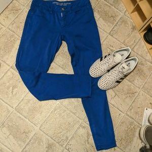 American Eagle Cobalt Jeans Jeggings